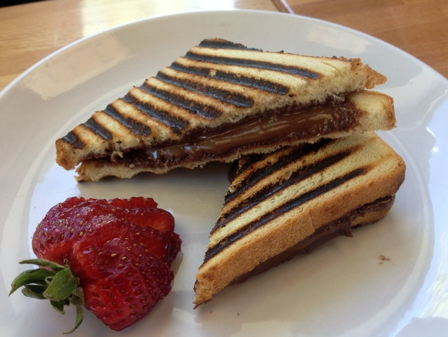 Nutella Panini at Park & Main