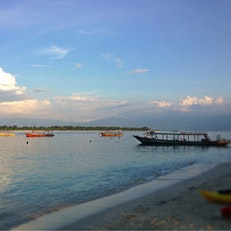 Horizontal Beach Club Gili Trawangan