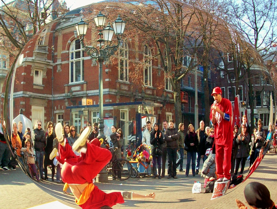 Leidseplein: Fun Squared in Amsterdam Amsterdam  The Netherlands
