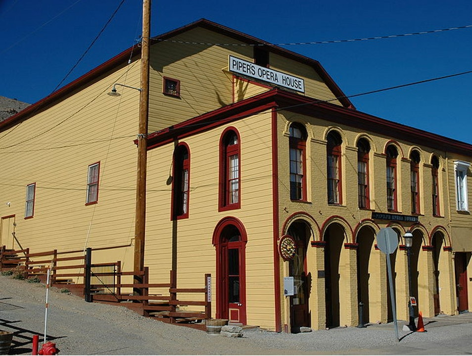 Historic opera house (and steampunk venue) Virginia City Nevada United States