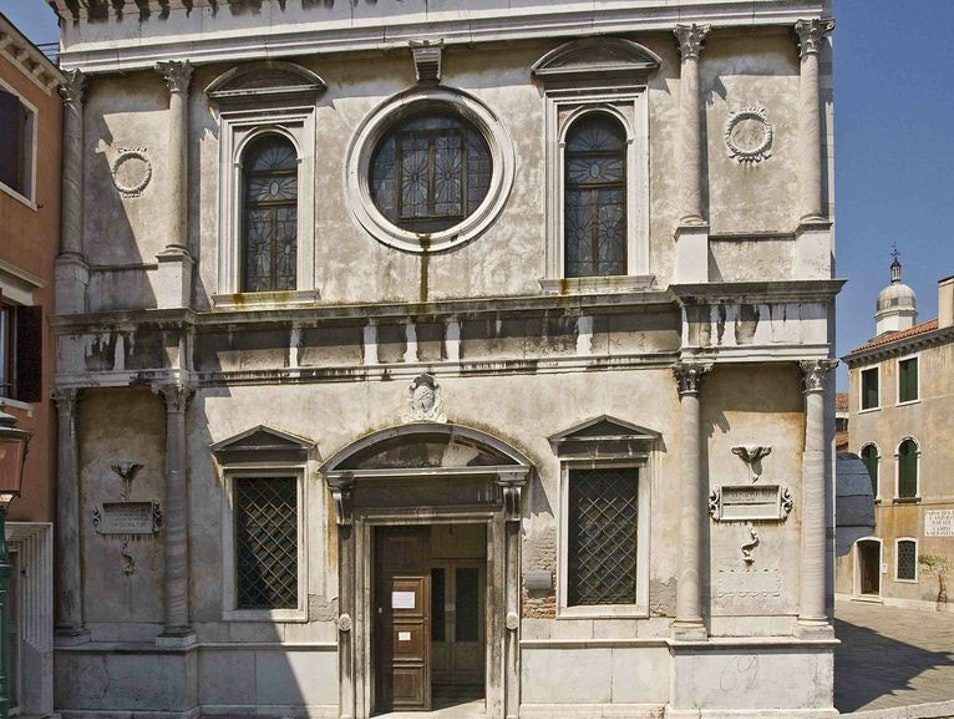 Church of San Sebastiano Venice  Italy