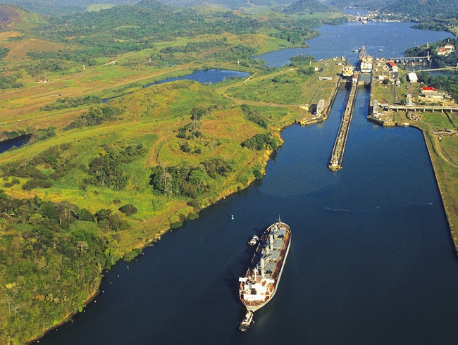 Panama Canal and Miraflores Locks