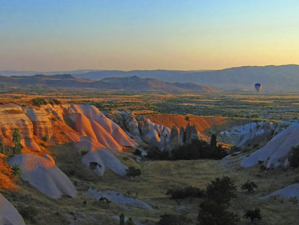 Hot Air Balloon Ride Over Cappadocia Göreme  Turkey