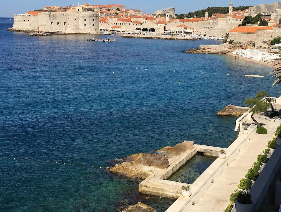 Gorgeous view of the City and the Sea! Dubrovnik  Croatia