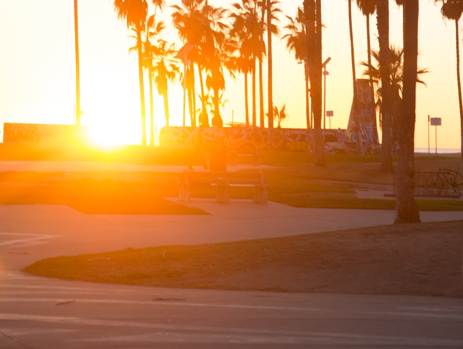 Iconic Venice Beach Los Angeles California United States