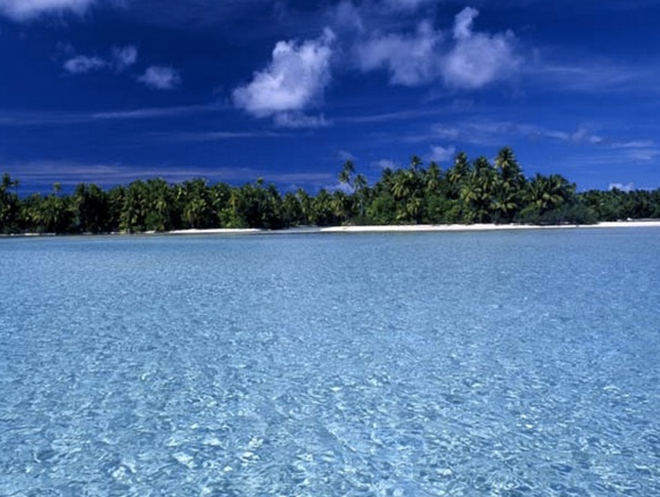 Manihi Island Tuamotus Islands  French Polynesia
