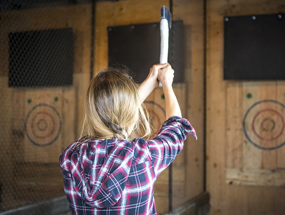 Forged Axe Throwing