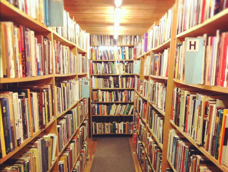 Get Lost in the Stacks at Myopic Books Chicago Illinois United States