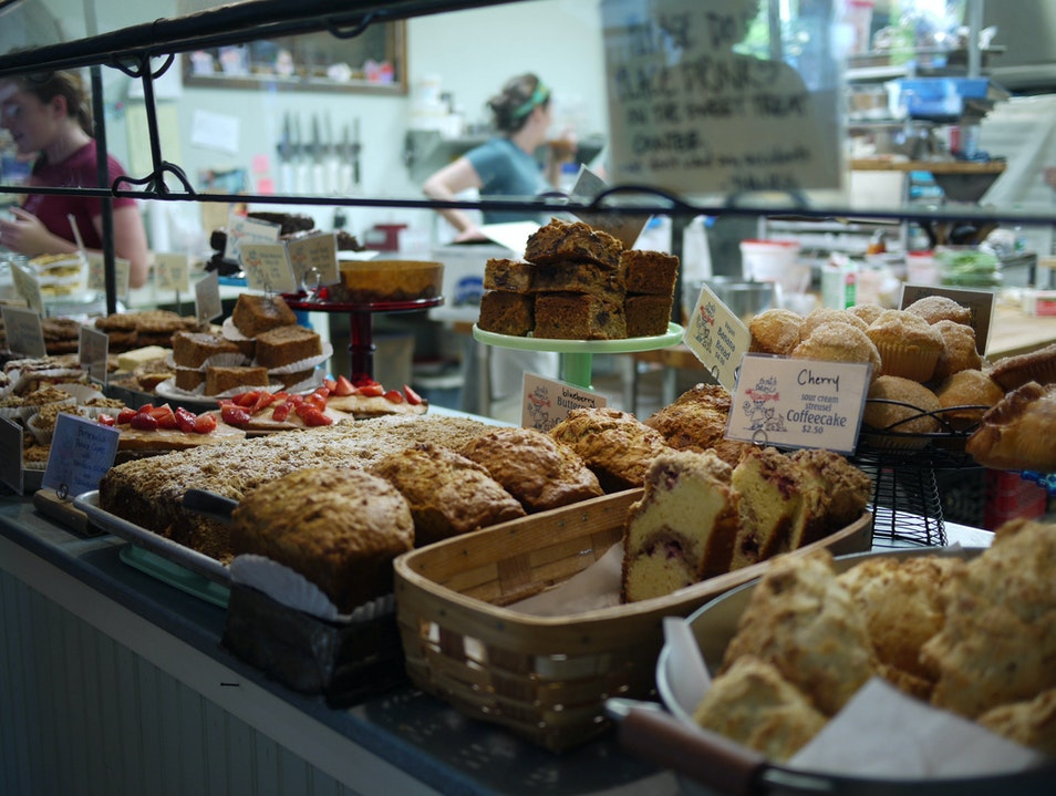 Tasty Breads and Desserts at Scratch Baking Co South Portland Maine United States