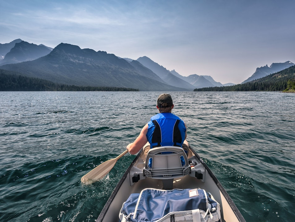 Paddle with your Passport Waterton Park  Canada