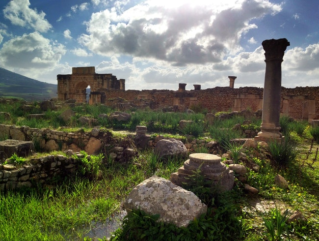 Remnants of the Romans in Morocco