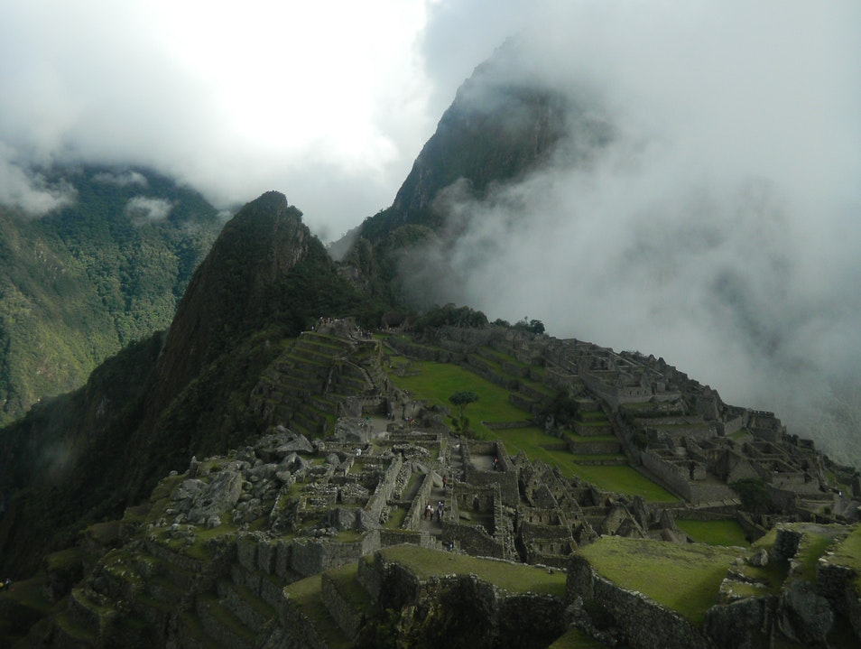 Machu Picchu at Dawn Urubamba  Peru