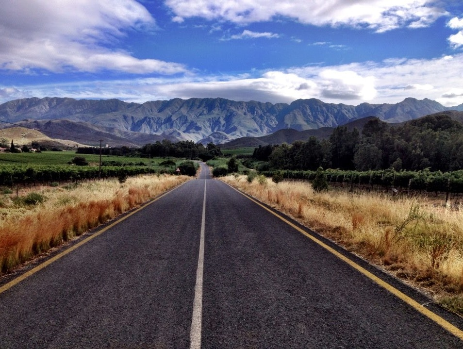 Majestic mountain Robertson  South Africa