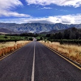 Langberg Mountains, outside Robertson, South Africa