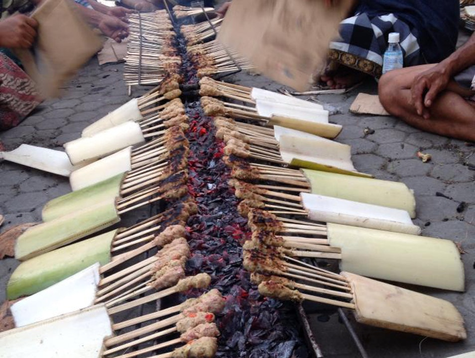 Deliciousness on a Stick Ubud  Indonesia
