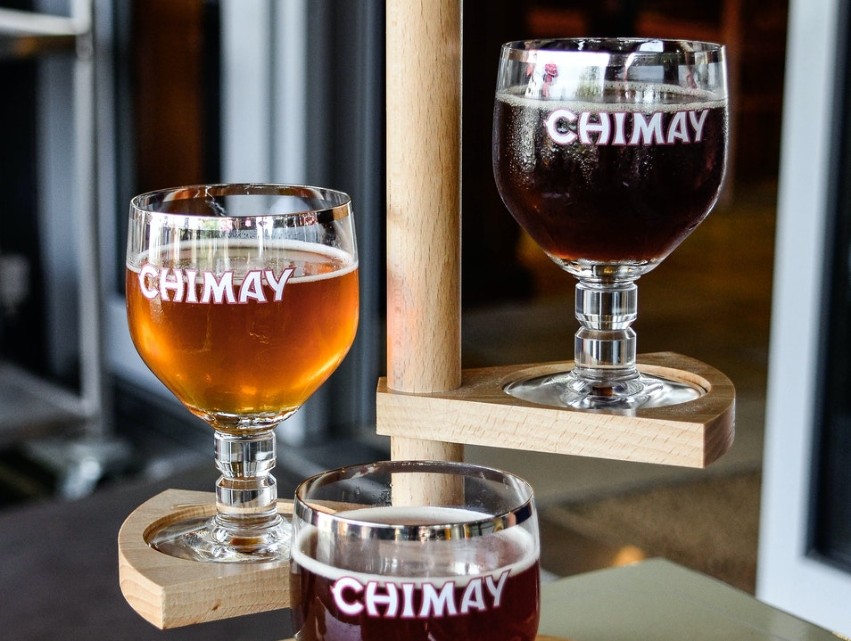 One good beer Chimay  Belgium