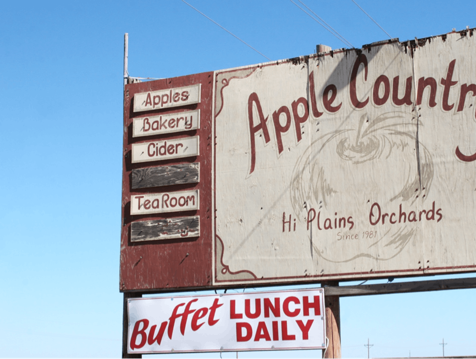 Head to Apple Country Idalou Texas United States