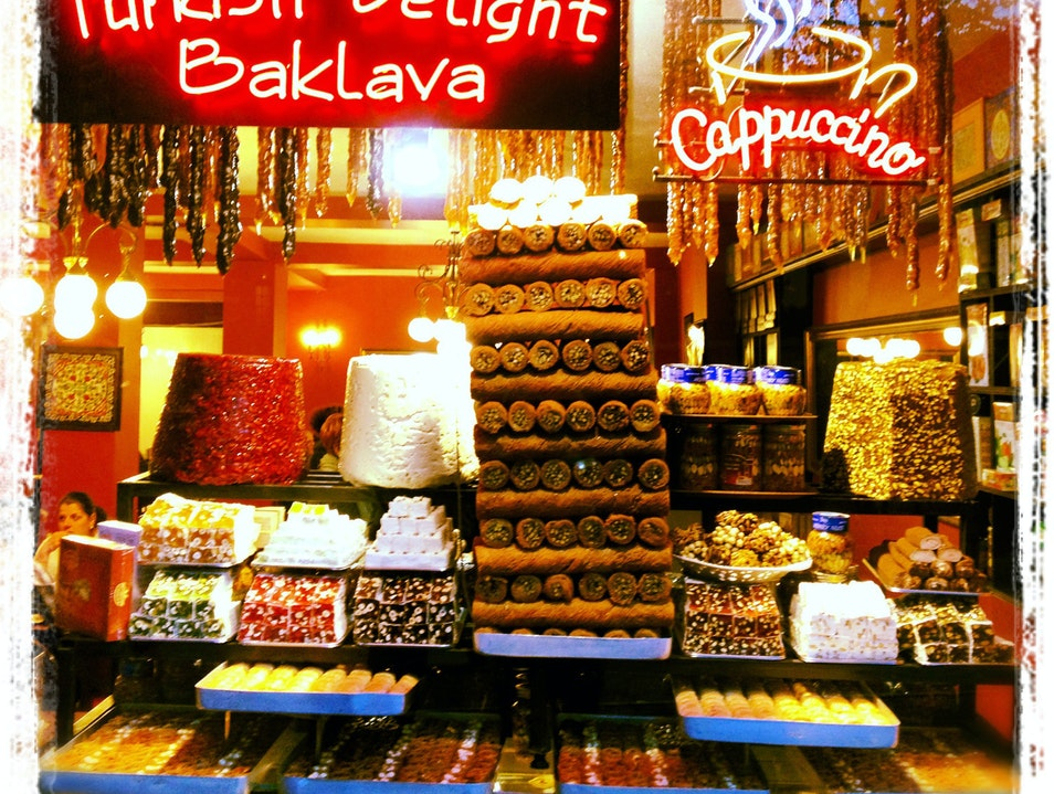 Turkish Delight and Then Some! Istanbul  Turkey