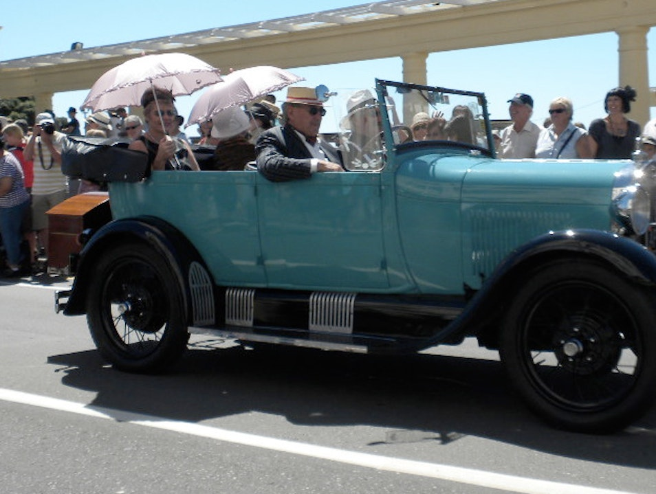 Travel to the 1920s During Art Deco Weekend Napier  New Zealand