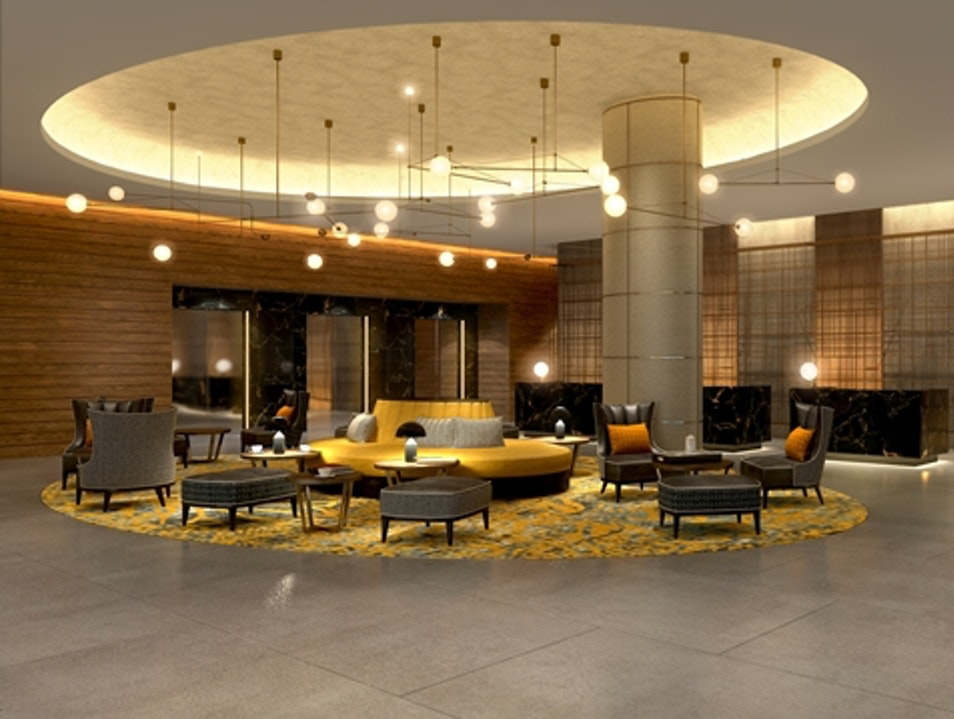 Spanking New Hilton Bankside Acts Like a Boutique Hotel  London  United Kingdom