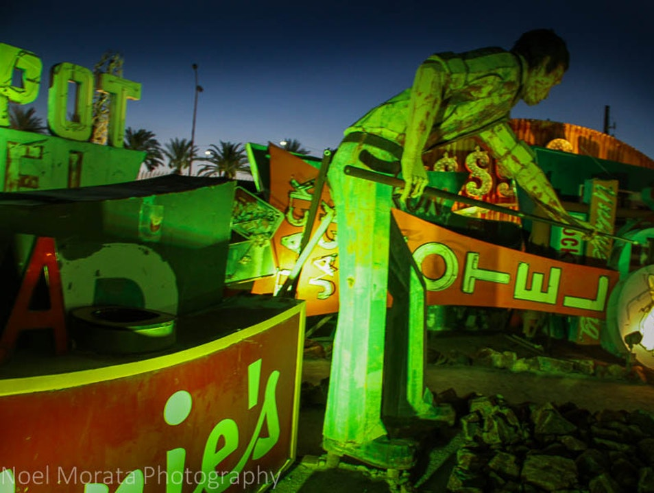 Photo tour highlights of the Neon Museum