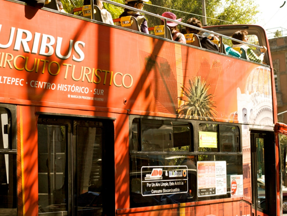 Take a Tour on the Turibus Mexico City  Mexico