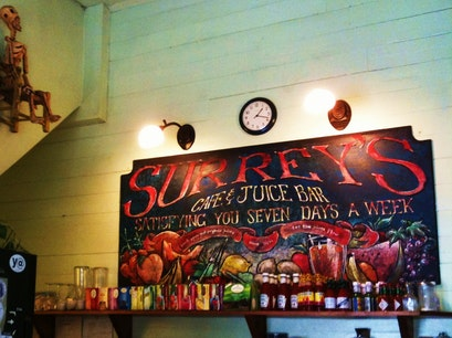 Surrey's Cafe and Juice Bar: 1418 Magazine St New Orleans Louisiana United States