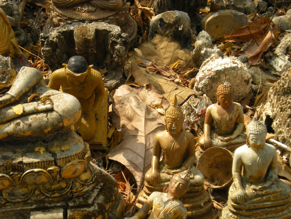 Buried Buddhas Mueang Chiang Mai  Thailand