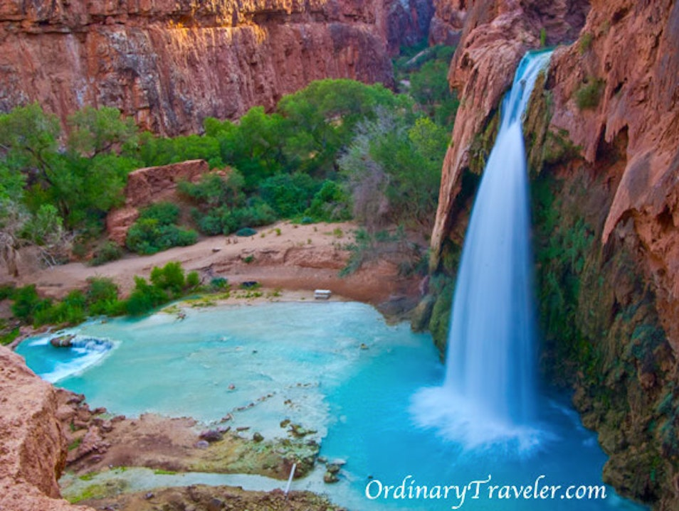 Havasu Falls in Havasupai Reservation - Grand Canyon Supai Arizona United States