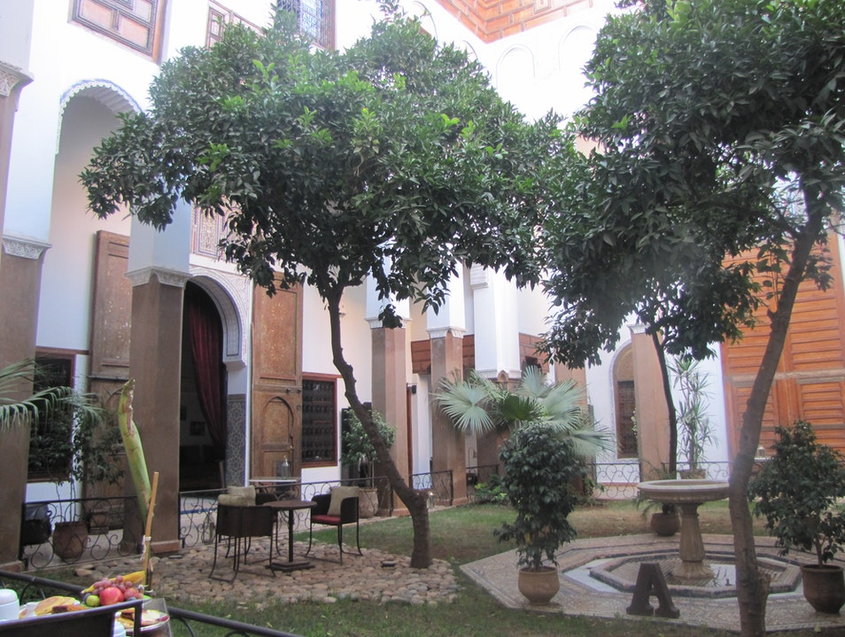 Forget Chain Hotels, Try the Riad Laaroussa Experience