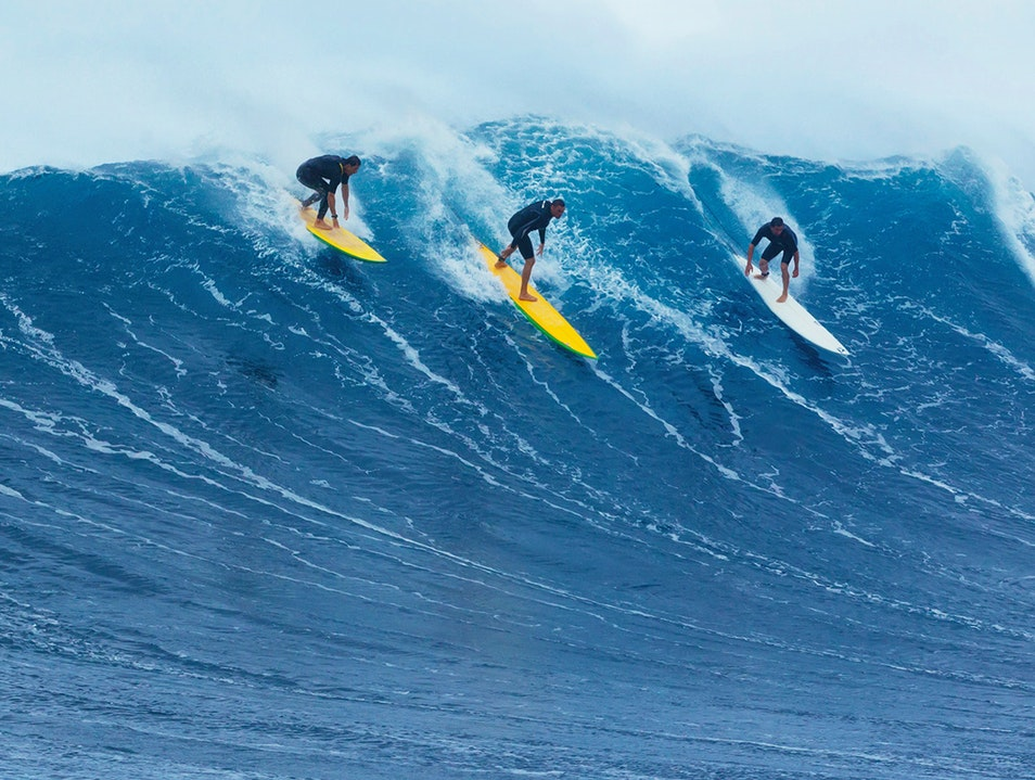 North Shore Surfing Haleiwa Hawaii United States