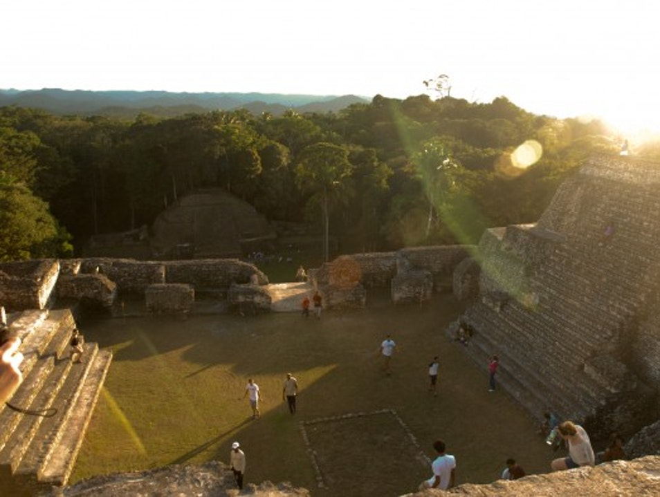 A Night on Sky Temple: Honoring the Long Count at Caracol Cayo  Belize