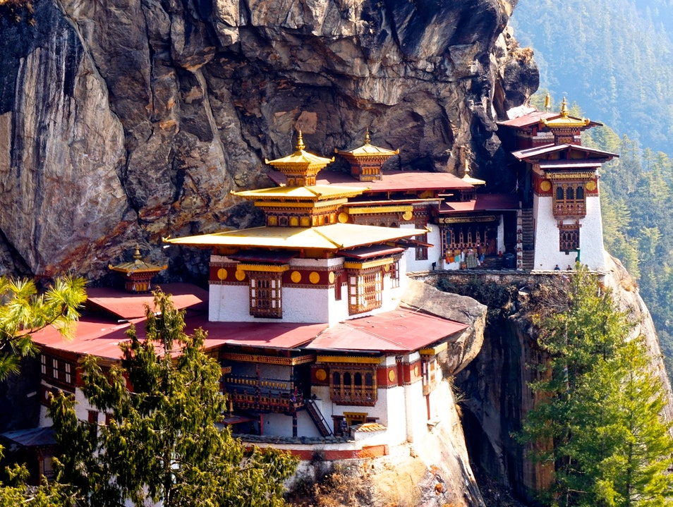 Hike up to the Tiger's Nest Trongsa  Bhutan