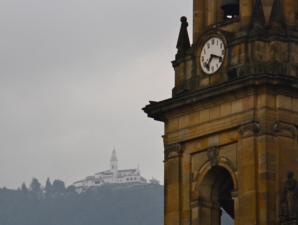 Haunted Mansions and Clocktowers Bogota  Colombia