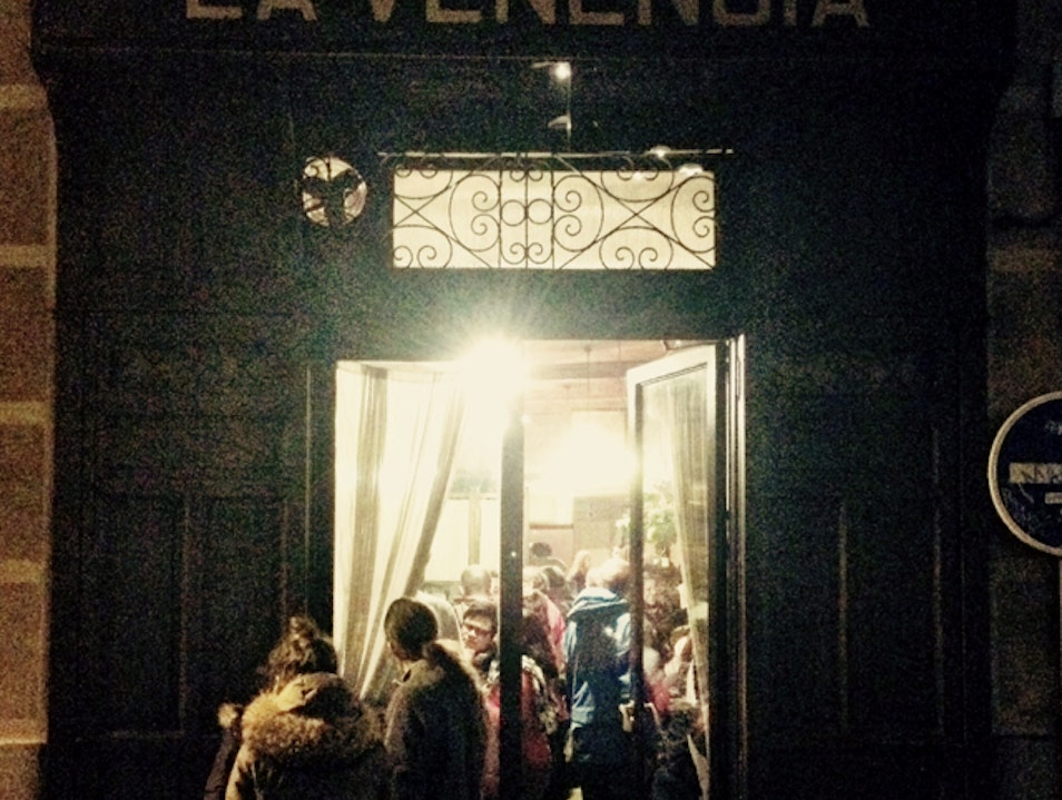 The Toughest Sherry Bar in Madrid