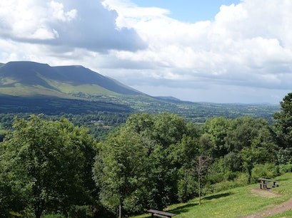 Glen of Aherlow South Tipperary  Ireland