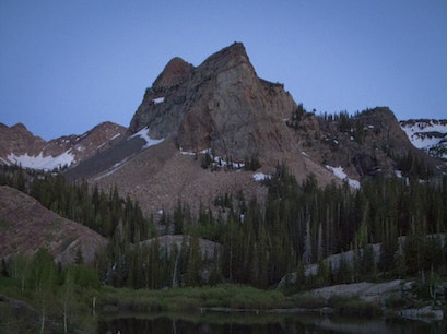 Lake Blanche Salt Lake City Utah United States