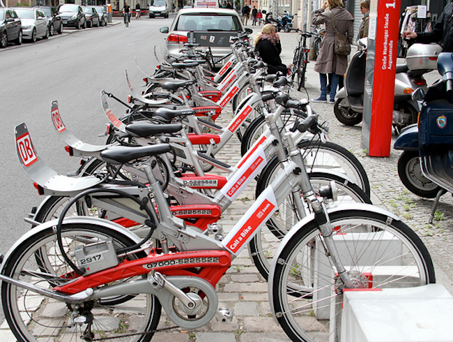 Berlin's Bike Share