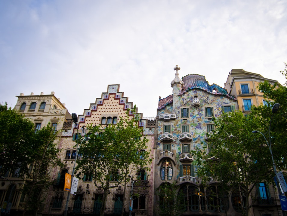 Gaudi On A Shoestring Barcelona  Spain