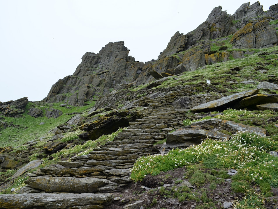 UNESCO Heritage Site Skellig Michael Climb Kerry  Ireland