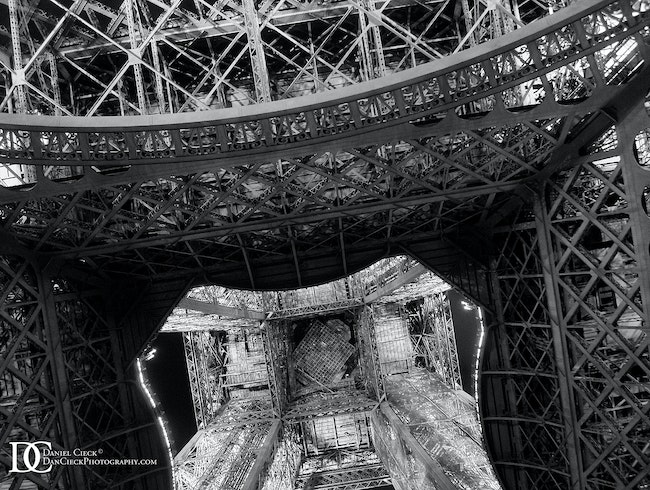 Eiffel Tower, Bottom Up