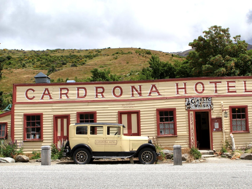 Winter Institutions Cardrona  New Zealand