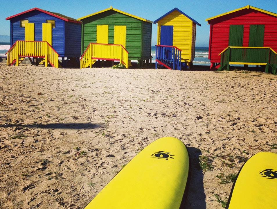 Surf Lesson in Muizenberg Cape Town  South Africa