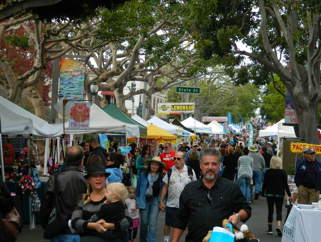 Largest street fair in southern California