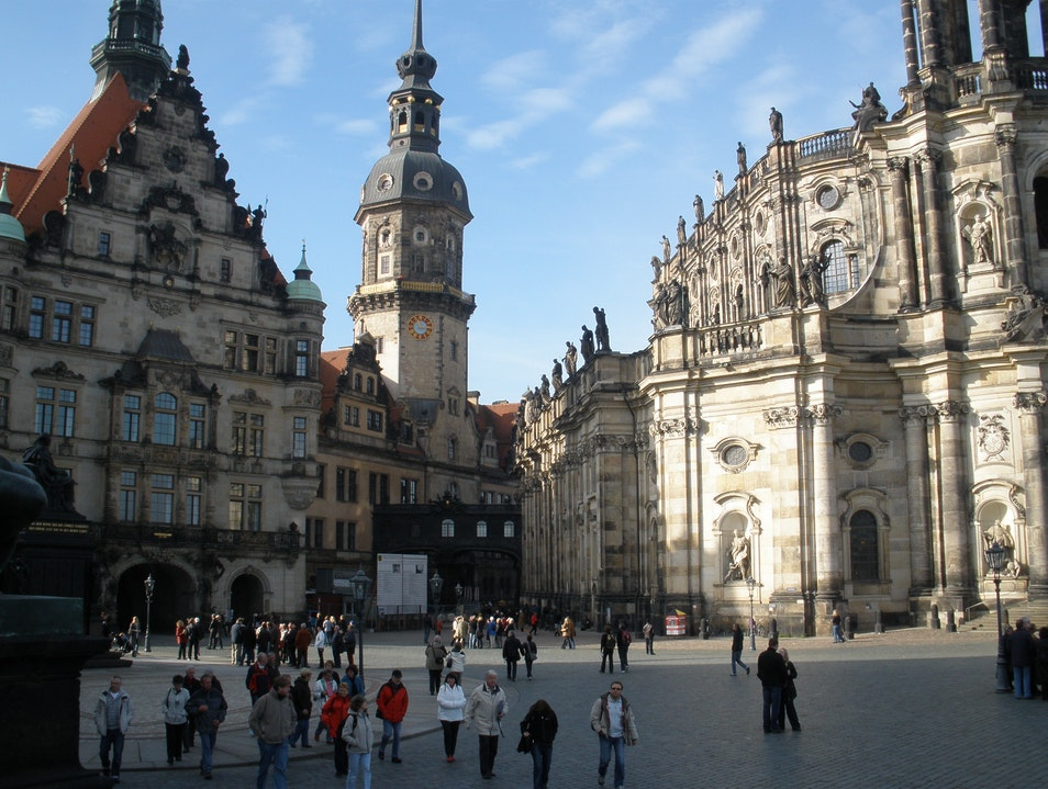 Stroll through the Old City in Dresden