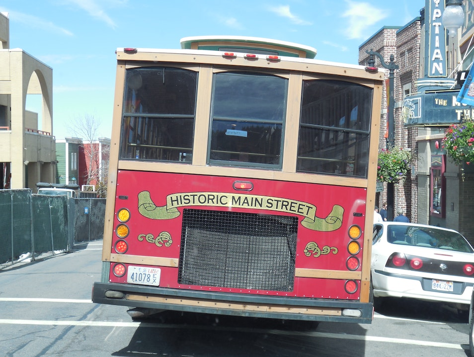 Ride the Free Main Street Trolley