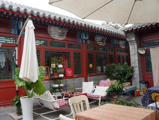 Wind down and have a drink in the hutong