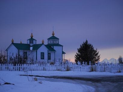 The Transfiguration of Our Lord Russian Orthodox Church Ninilchik Alaska United States