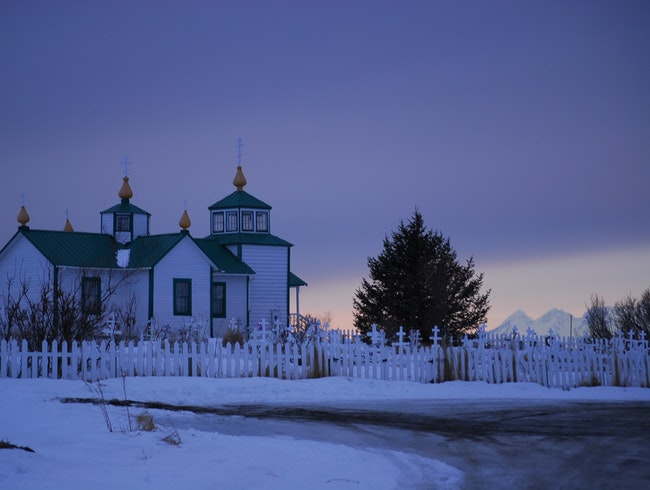 The Transfiguration of Our Lord Russian Orthodox Church, Ninilchik, Alaska