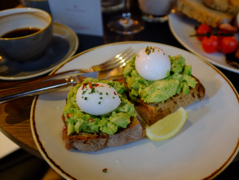 Breakfast in London London  United Kingdom